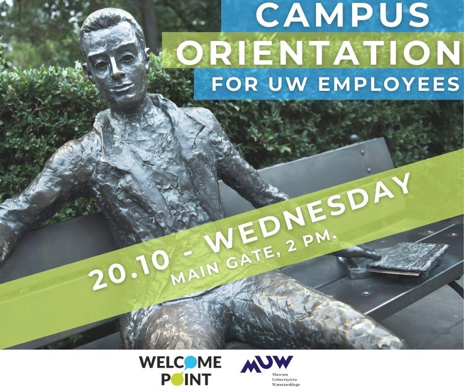 Campus orientation for UW employees