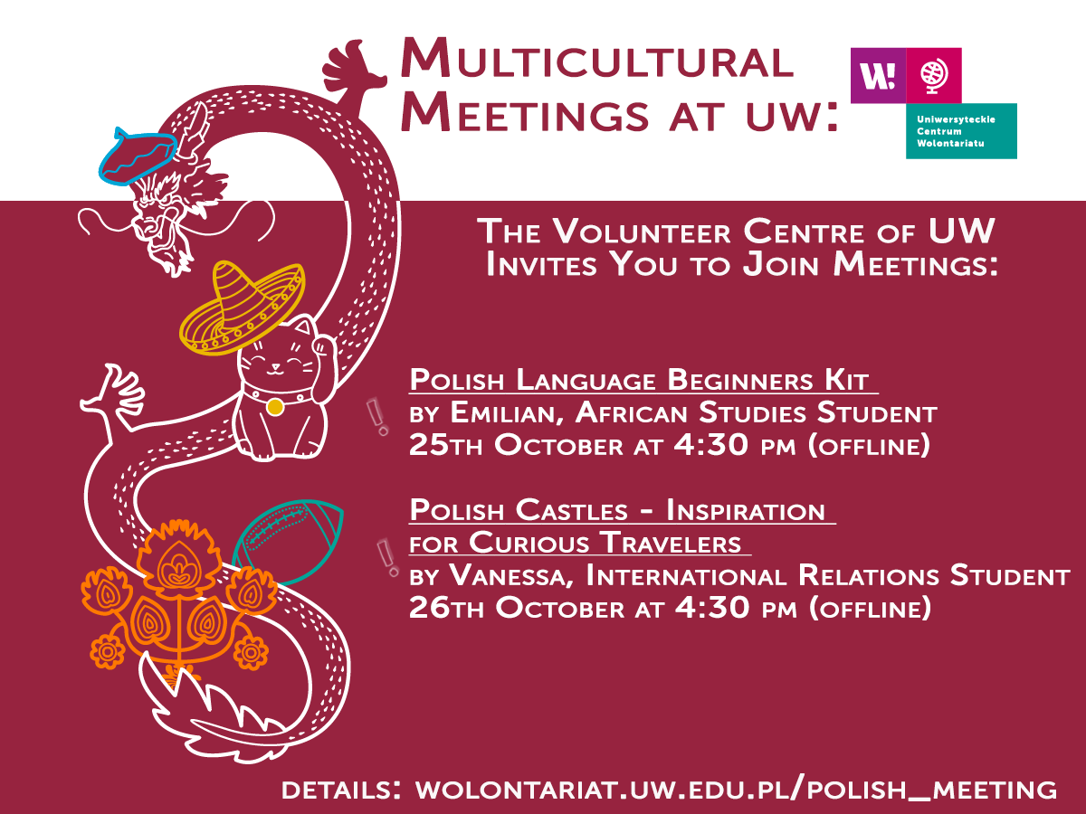 Multicultural Meetings organised by The Colunteer Centre of UW